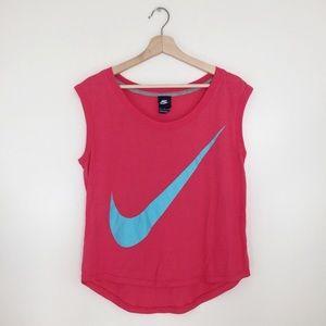 Nike | Sleeveless Tank Top Swoosh Logo Workout